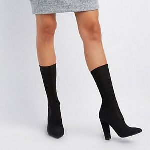 Mid calf stretch boot